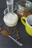 咖啡早晨 仍然1寿命 免版税库存图片