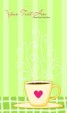 咖啡早晨 免版税图库摄影