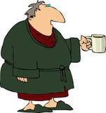咖啡早晨 皇族释放例证