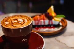 咖啡时间早晨 免版税库存图片