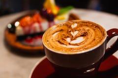 咖啡时间早晨 免版税图库摄影