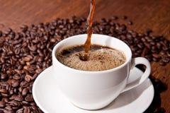 咖啡时间! 免版税库存照片