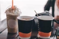 咖啡时间/放松时间 免版税库存图片