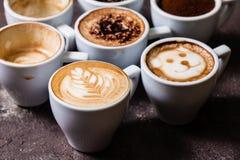 咖啡是我的爱 库存图片