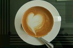 咖啡晚艺术早晨 免版税库存图片