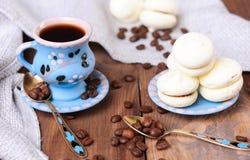 咖啡曲奇饼托起向量 图库摄影