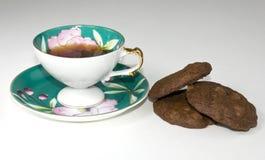 咖啡曲奇饼 库存图片