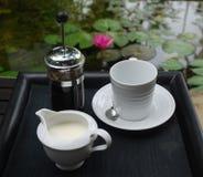 咖啡服务 免版税库存图片
