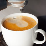 咖啡机器 库存图片