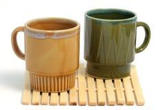 咖啡杯二 免版税图库摄影