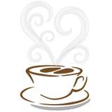 咖啡杯向量 库存照片