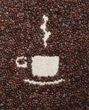 咖啡杯图象 免版税库存照片