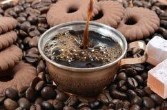 咖啡杯土耳其 免版税图库摄影