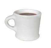 咖啡杯查出的杯子老白色 库存照片