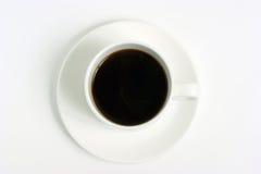 咖啡杯查出的白色 免版税图库摄影