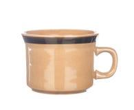 咖啡杯查出的白色 库存照片