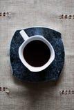 咖啡杯热严格 库存照片