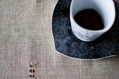 咖啡杯热严格 免版税库存照片