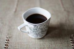 咖啡杯热严格 免版税库存图片