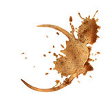 咖啡杯环形 免版税库存图片