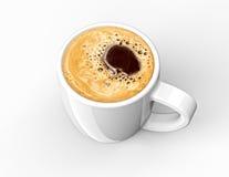 咖啡杯用咖啡 免版税图库摄影