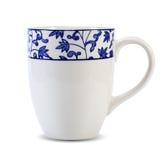 咖啡杯白色 免版税库存照片