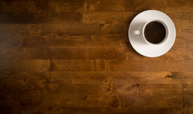 咖啡杯白色 免版税库存图片