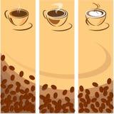 咖啡杯白色 皇族释放例证