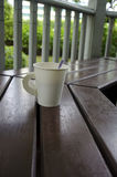 咖啡杯纸张 图库摄影