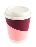 咖啡杯纸张 免版税库存图片