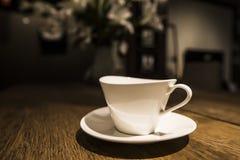 咖啡杯茶碟 免版税图库摄影