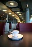 咖啡杯表 库存照片
