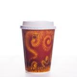 咖啡杯采取 库存图片