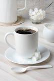 咖啡杯静物画 免版税库存图片