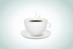 咖啡杯,传染媒介,例证 免版税库存图片