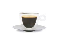 咖啡杯玻璃 图库摄影