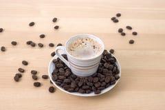 咖啡杯 免版税库存图片