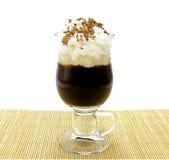 咖啡杯latte 免版税库存图片