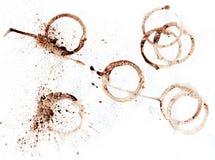 咖啡查出的印花税与 免版税图库摄影