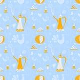 咖啡样式阿拉伯咖啡 图库摄影