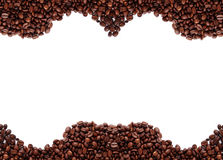 咖啡框架谷物 库存照片