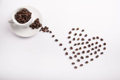咖啡概念性想法  免版税库存图片