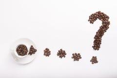 咖啡概念性想法  免版税库存照片