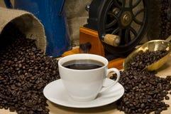 咖啡横向 库存照片