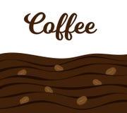 咖啡横幅设计元素传染媒介装饰 库存例证