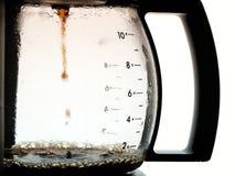 咖啡水罐 免版税图库摄影