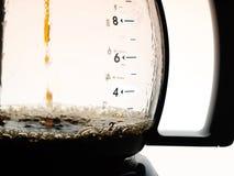 咖啡水罐 免版税库存照片