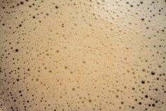 咖啡泡沫 免版税库存图片
