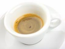 咖啡浓咖啡意大利语 免版税库存照片