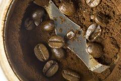 咖啡混合 免版税库存照片